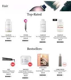 Hair conditioner deals in the Sephora weekly ad in New York