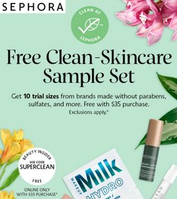 Beauty & Personal Care deals in the Sephora catalog ( 8 days left)
