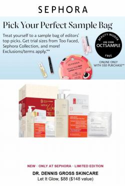 Beauty & Personal Care deals in the Sephora catalog ( Published today)