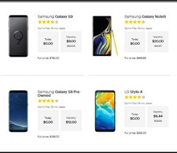 LG deals in the Sprint weekly ad in Poughkeepsie NY