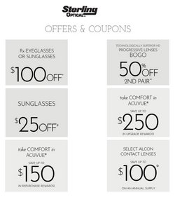 Opticians & Sunglasses deals in the Sterling Optical catalog ( 5 days left)