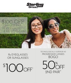 Opticians & Sunglasses deals in the Sterling Optical catalog ( 20 days left)