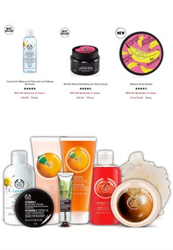 Makeup deals in the The Body Shop weekly ad in San Jose CA