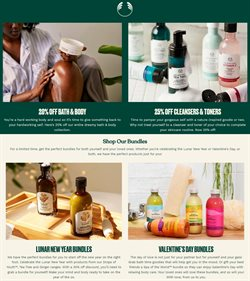 Beauty & Personal Care offers in the The Body Shop catalogue in Phoenix AZ ( 6 days left )
