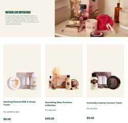 Roses deals in The Body Shop