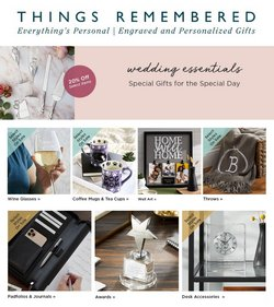 Things Remembered catalogue ( 6 days left )