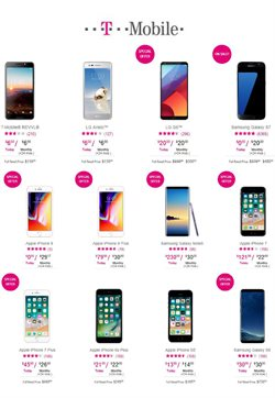 T-Mobile deals in the Bayamon PR weekly ad