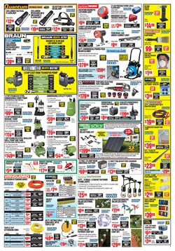 Paint deals in the Harbor Freight Tools weekly ad in Dearborn Heights MI