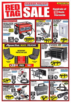 Generator deals in the Harbor Freight Tools weekly ad in Columbus IN