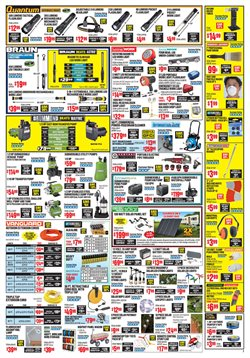 Barbecue deals in the Harbor Freight Tools weekly ad in Kent WA