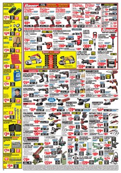 Makita deals in the Harbor Freight Tools weekly ad in New York
