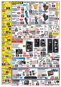 Ladder deals in the Harbor Freight Tools weekly ad in Chino CA