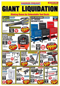 Tools & Hardware deals in the Harbor Freight Tools weekly ad in Humble TX