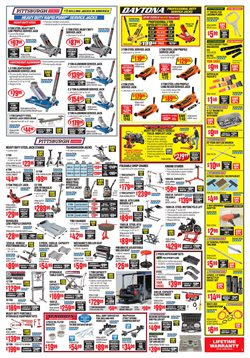 Lawn deals in the Harbor Freight Tools weekly ad in New York