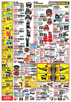 Nails deals in the Harbor Freight Tools weekly ad in Johnstown PA