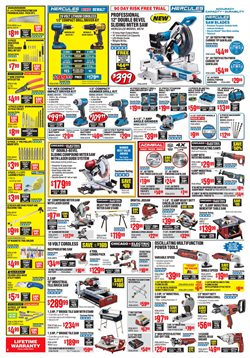 Tile deals in the Harbor Freight Tools weekly ad in Johnstown PA