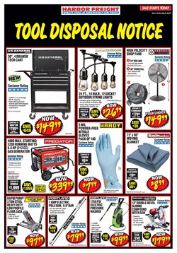 Tools & Hardware deals in the Harbor Freight Tools weekly ad in Acworth GA