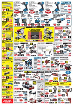 Grinder deals in the Harbor Freight Tools weekly ad in New York