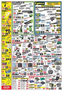 Pool deals in the Harbor Freight Tools weekly ad in Abilene TX