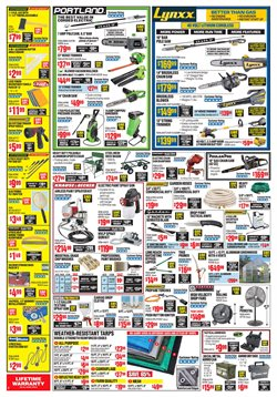 Trees deals in the Harbor Freight Tools weekly ad in New York