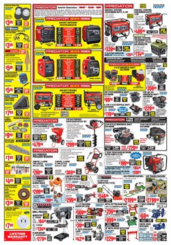 Lawn mower deals in the Harbor Freight Tools weekly ad in Knoxville TN