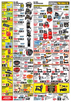Nails deals in the Harbor Freight Tools weekly ad in Troy NY