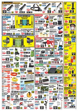 Pipes deals in the Harbor Freight Tools weekly ad in Troy NY