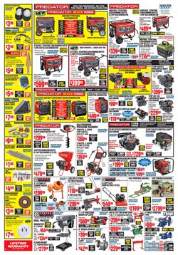 Lawn mower deals in the Harbor Freight Tools weekly ad in Lafayette LA