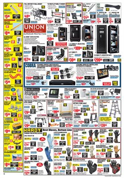 Ladder deals in the Harbor Freight Tools weekly ad in La Puente CA