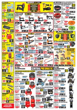 Nails deals in the Harbor Freight Tools weekly ad in Tucson AZ