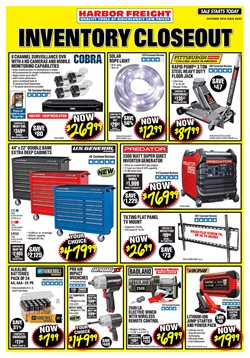 Tools & Hardware deals in the Harbor Freight Tools weekly ad in Fontana CA