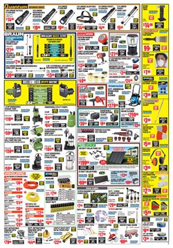 Barbecue deals in the Harbor Freight Tools weekly ad in Columbus IN