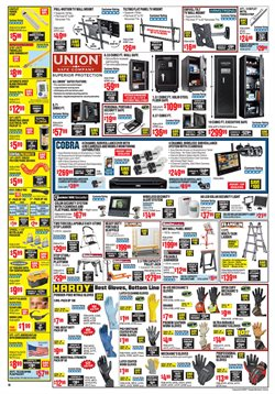 Ladder deals in the Harbor Freight Tools weekly ad in Chino Hills CA