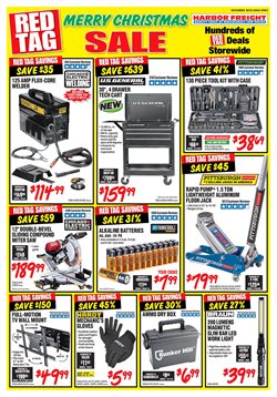 Tools & Hardware deals in the Harbor Freight Tools weekly ad in Vacaville CA