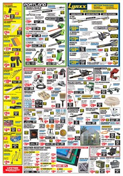 Trimmer deals in the Harbor Freight Tools weekly ad in New York