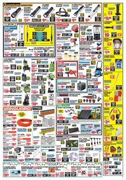 Drill deals in the Harbor Freight Tools weekly ad in Pleasanton CA