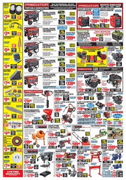 Lawn mower deals in the Harbor Freight Tools weekly ad in San Antonio TX