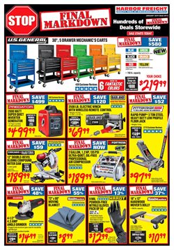 Saw deals in the Harbor Freight Tools weekly ad in New York