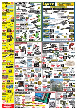 DeWalt deals in the Harbor Freight Tools weekly ad in New York