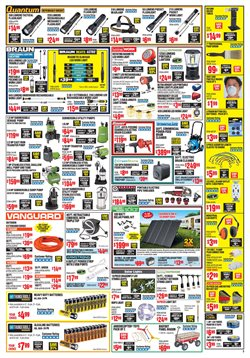 Drill deals in the Harbor Freight Tools weekly ad in Concord CA