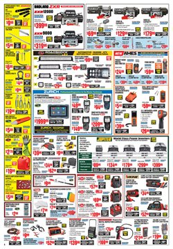 Clothing deals in the Harbor Freight Tools weekly ad in New York