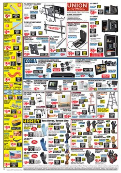 Ladder deals in the Harbor Freight Tools weekly ad in Garden Grove CA