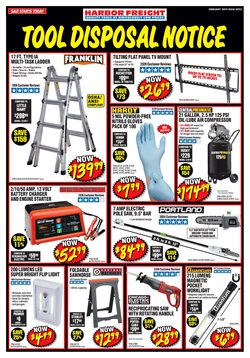 Harbor Freight Tools deals in the Phoenix AZ weekly ad
