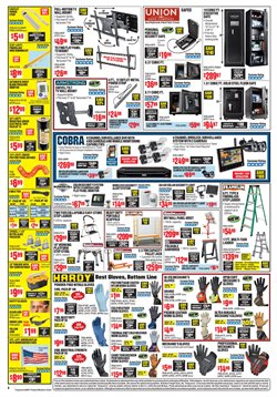 Fashion deals in the Harbor Freight Tools weekly ad in New York