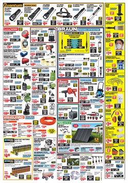 Bulbs deals in the Harbor Freight Tools weekly ad in New York
