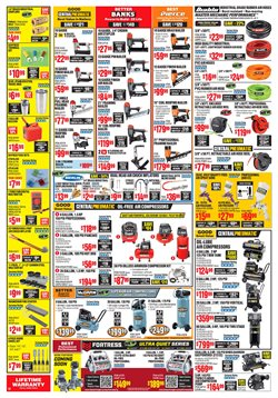 Nails deals in the Harbor Freight Tools weekly ad in Bay City MI