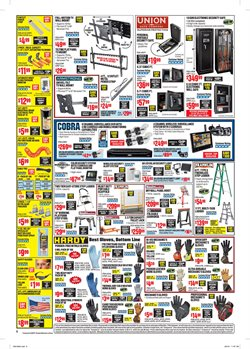 Ladder deals in the Harbor Freight Tools weekly ad in New York