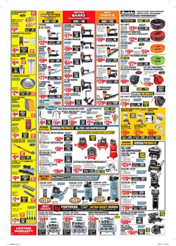 Nails deals in the Harbor Freight Tools weekly ad in Whittier CA