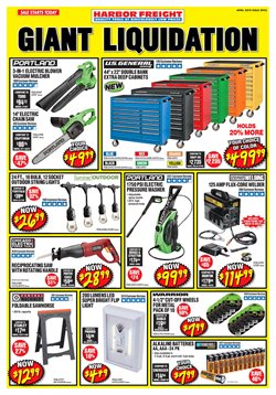 Harbor Freight Tools deals in the New York weekly ad