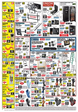 Ladder deals in the Harbor Freight Tools weekly ad in Concord CA